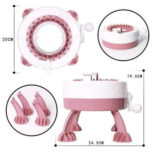 DIY Kid 22 Needles Knitted Machine Toy+Parent-Child Toy