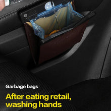 Load image into Gallery viewer, LED Car Trash Can Organizer Garbage Holder