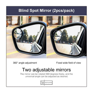 Blind Spot Mirror (2pcs/pack)