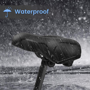 Waterproof  & Breathable Hollow And Ergonomic Bicycle Seat For Men And Women Available