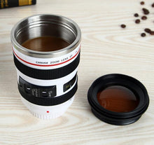 Load image into Gallery viewer, CAMERA LENS TRAVEL COFFEE MUG