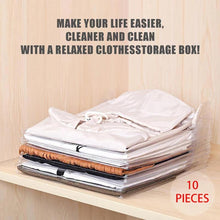 Load image into Gallery viewer, Effortless Clothes Organizer (10 pieces)