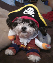 Load image into Gallery viewer, Funny Pet Costume Clothes Cosplay Pirate