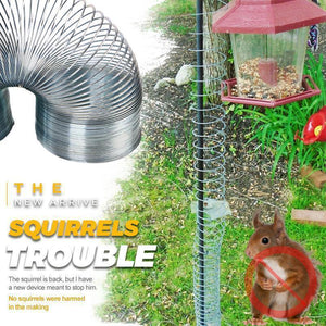 Squirrel Spring Trap Decompression Spring Ring Toy Finger Metal Spring Ring Squirrels Trouble