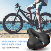 Load image into Gallery viewer, Waterproof  & Breathable Hollow And Ergonomic Bicycle Seat For Men And Women Available