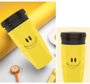 Twizz Travel Mug with Lidless Silicone Membrane Twist Sippy Cup