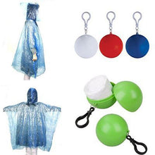 Load image into Gallery viewer, Unisex Portable Plastic Keyring Raincoat Ball (2PCS/3PCS)