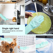 Load image into Gallery viewer, SILICONE DISH WASHING GLOVES