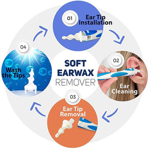 Safe Spiral Earwax Removal Tool
