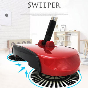 Magic Stainless Steel Handle Push Sweeping Machine