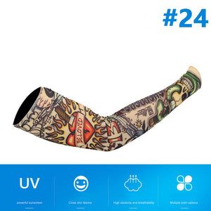 50% OFF TODAY - Tattoo Arm Sunscreen Sleeves(2 pcs)