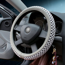 Load image into Gallery viewer, Universal Durable Elastic Stitch Car Steering Wheel Cover(Skidproof & Absorb Sweat)