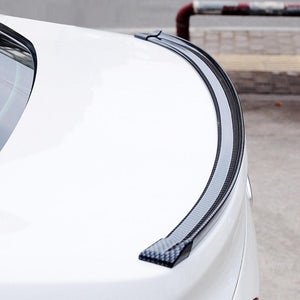 1.5M Universal 3D  Carbon Fiber Rear Roof Trunk Spoiler Wing Tail Lip Trim
