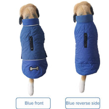 Load image into Gallery viewer, Waterproof  Pet Cotton Pet Clothing Double-Sided Can Wear