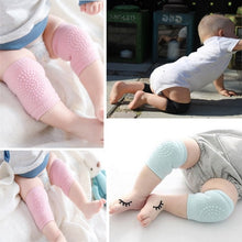 Load image into Gallery viewer, 3 Pairs Baby Safety Breathable Comfortable Crawling Knee Pad