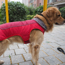 Load image into Gallery viewer, Pet Fur Warm Collar Reflective & Waterproof Clothes
