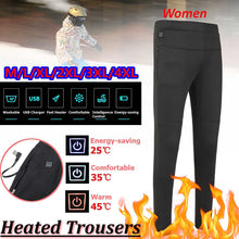 Load image into Gallery viewer, 1 Pc Women Winter Outdoor Hiking High Waist Heated Pants