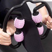 Load image into Gallery viewer, 4-Point Foam Massager Roller