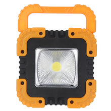 Load image into Gallery viewer, 30W Solar COB Work Light Flashlight Solar Portable Rechargeable LED Flood Light Outdoor Garden Work Spot Lamp Portable Lights
