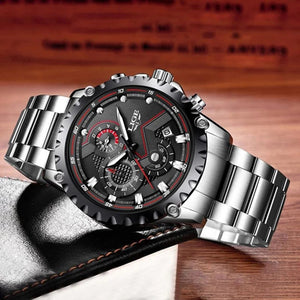 Men's Chronograph Sports  Business Waterproof Watch