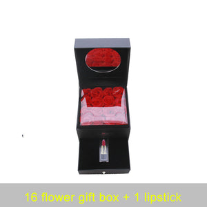 Rose Lipstick Gift Box