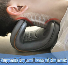 Load image into Gallery viewer, Cervical Spine Stretching Pillow Massager Cervical Spine Correction Device To Relieve Cervical Spine Pain Portable Neck Pillow