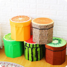 Load image into Gallery viewer, 2 IN 1 FOLD-ABLE FRUIT STOOL & STORAGE BOX