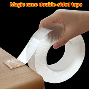Reusable Traceless Double-sided Magic Nano Tape