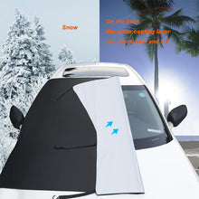 Load image into Gallery viewer, Car Windshield Cover - Frost, Ice, Snow, Water, Scratch, and Heat Resistant