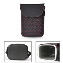 Load image into Gallery viewer, Leather Car Trash Bin Auto Organizer Storage Box