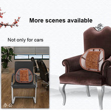 Load image into Gallery viewer, Practical Lumbar Support cushion & Massager for office Chairs and Cars