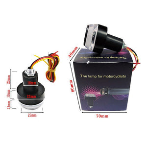 Motorcycle Handlebar LED Turn Signal Light