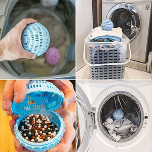 4 Pieces Laundry Ball Ultra Laundry Washer and Dryer Washing Ball