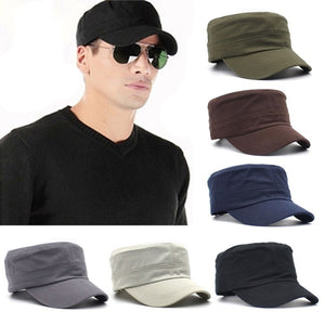 Classic Unisex Fashion Plain Vintage Cotton Cap Hat Adjustable (Buy 3 get free shipping)