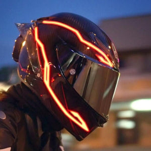 Hot sale 50%OFF🔥Motorcycle helmet LED light bar sticker