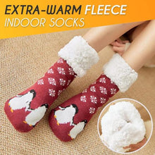 Load image into Gallery viewer, Extra-warm Fleece Indoor Socks