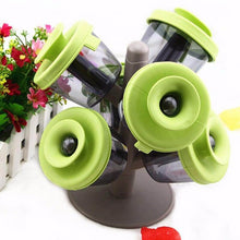Load image into Gallery viewer, 6 pcs Pop Up Spice Jar with Tree Holder