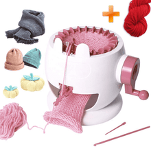 Load image into Gallery viewer, DIY Kid 22 Needles Knitted Machine Toy+Parent-Child Toy