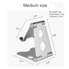 Load image into Gallery viewer, Metal Adjustable Phone Stand