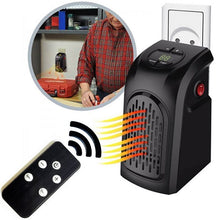 Load image into Gallery viewer, Portable Mini Heater with Remote Control