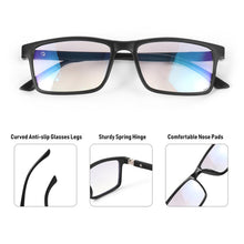 Load image into Gallery viewer, Unisex Progressive Multifocal Reading Glasses Anti Blue Light