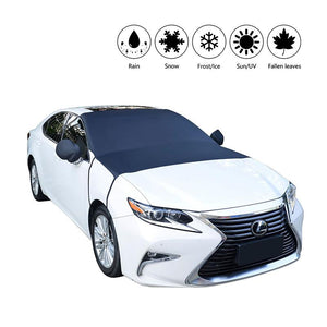Car Windshield Cover - Frost, Ice, Snow, Water, Scratch, and Heat Resistant