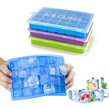 Load image into Gallery viewer, Silicone Ice Cube Mold