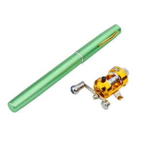 Mini Pen Fishing Rod - Pocket Fishing Rod