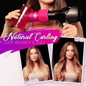 Spin-n-curl Hair Dryer Diffuser