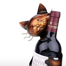 Load image into Gallery viewer, Cat Wine Holder