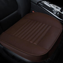 Load image into Gallery viewer, Four Seasons Universal Dani Leather Charcoal All-Inclusive Car Seat Cushion
