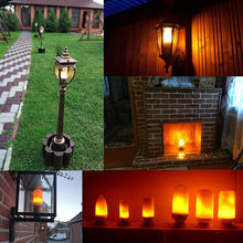 Load image into Gallery viewer, LED Flame Lamp Fire Flickering Emulation Lamp