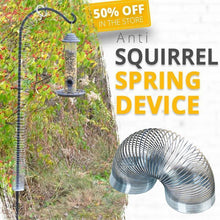 Load image into Gallery viewer, Squirrel Spring Trap Decompression Spring Ring Toy Finger Metal Spring Ring Squirrels Trouble