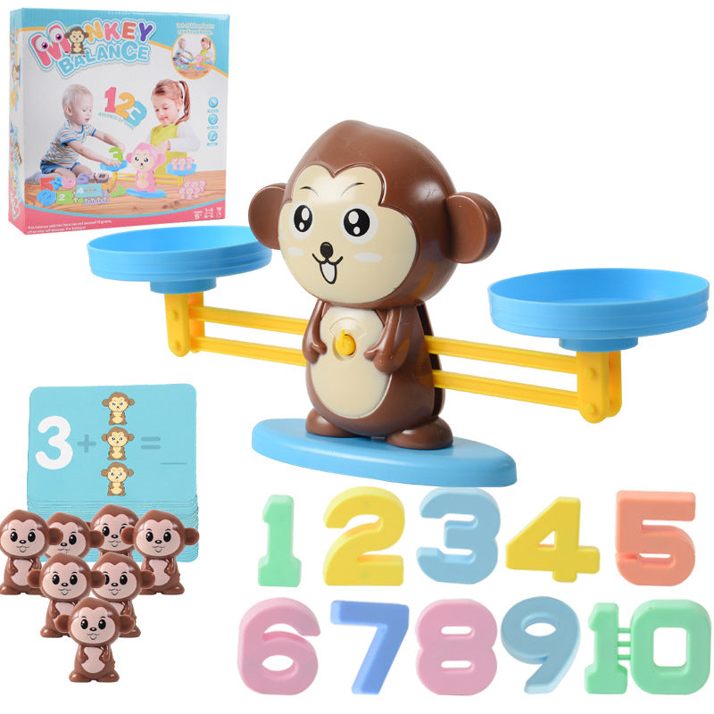 MONKEY BALANCE MATH GAME - MAKES LEARNING NUMBERS FUN! (Christmas gift)